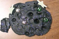galaxy playdough
