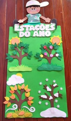 DIY Sensory play game board for baby and toddlers Decoration Creche, Class Decoration, School Decorations, Kids Crafts, Felt Crafts, Paper Crafts, Classroom Board, Classroom Decor, Preschool Learning