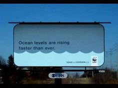 wwf billboard - green ads