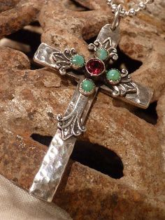 Another beautiful cross pendant by Richard Schmidt