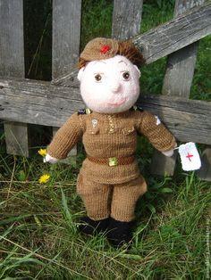 Кукла солдат - хаки,подарок мужчине,подарок на 23 февраля,кукла ручной работы