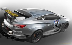 Opel Astra Cup Concept | detailed