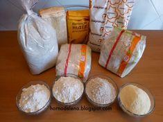 LAS HARINAS ¿Cual es la mejor para hacer pan? ¿Sabes distinguirlas? Aquí te damos un poco de información que seguro te será útil!