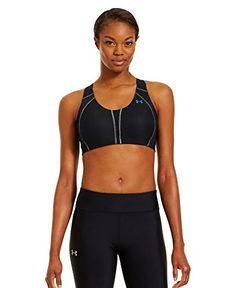 e860f38de7 Under Armour Womens Armour Bra BlackBreak36B ** For more information, visit  image link.(This is an Amazon affiliate link and I receive a commission for  the ...
