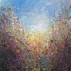 "Saatchi Online Artist Sandy Dooley; Painting, ""Autumn Light"" #art"