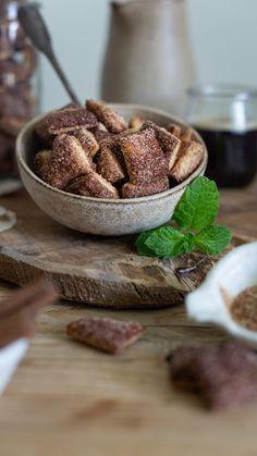 Škoricové cereálie z kvásku - Nelkafood s láskou ku kvásku Sweet Recipes, Cereal, Breakfast, Food, Basket, Morning Coffee, Essen, Meals, Yemek