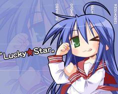 lucky star | Lucky Star Wallpaper - Lucky Star Wallpaper (2380175) - Fanpop ...
