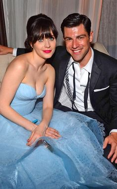 Zooey Deschanel to sing and entertain guests! Max Greenfield attends as well! Love the New Girl cast! New Girl Cast, New Girl Tv Show, Pretty People, Beautiful People, Gorgeous Guys, Beautiful Women, Nick And Jess, Zoey Deschanel, Jessica Day