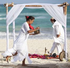 Mayan Ceremony in Tulum - www.mytulumwedding.com