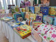 Usborne Books Christmas Fair stall at the South Tyneside Christmas Wonderland Fair, December 2013.