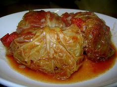 Crock pot cabbage rolls - These were so easy...and delicious!