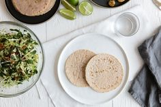 These cassava flour tortillas are gluten-free, grain-free, vegan and paleo-friendly. They're perfect for tacos, fajitas or to make homemade tortilla chips.