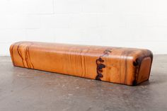 Vintage Leather Gym Vault Bench i'm thinking of environments from which vintage materials are still found unconventional 'furniture' is found. please list any ideas.