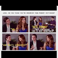 Josh enjoys XD