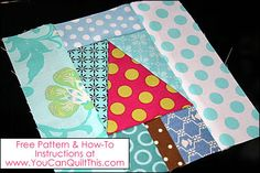 """How to Paper Piece"" Tutorial (Foundation Piecing) + Free Pattern!"