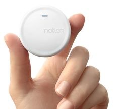 Homepage hand sensor
