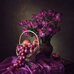 Still life in purple colors by Daykiney on DeviantArt