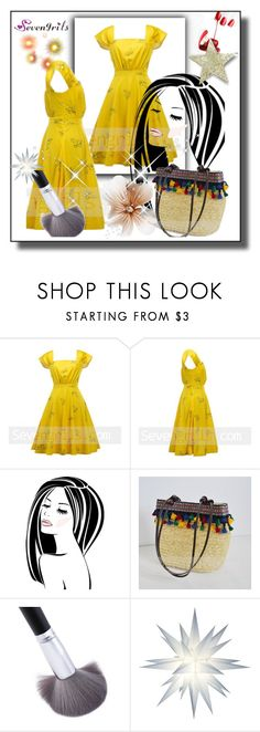 """Sevengrils-27"" by amra-2-2 ❤ liked on Polyvore featuring vintage"