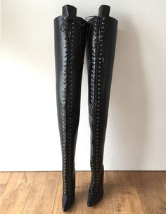 Thigh High Boots, High Heel Boots, Over The Knee Boots, Heeled Boots, Bootie Boots, Shoe Boots, Drawing High Heels, Crotch Boots, Nylons Heels