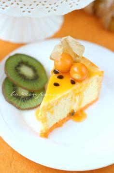 Passion Fruit Emtremet Slice