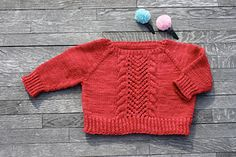 Super soft 3/4 sleeve pullover for my daughter. Malabrigo worsted in Ravelry Red. Ravelry project. French Twist pattern by Dani Sunshine.