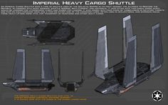 Imperial Heavy Cargo Shuttle ortho [1][New] by unusualsuspex.deviantart.com on @DeviantArt