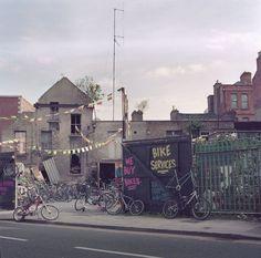A bike service in central Dublin