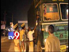 Special drive against drunken driving in West Godavari