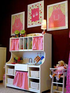 A influência da cor no quarto do seu filho. Quarto rosa