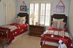 Can find the quilts at Pottery Barn Kids