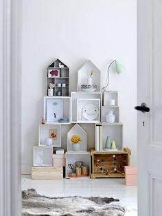 Comodoos Interiores -Tu blog de Decoracion-: Geometria y colores delicados. Una decoracion perfecta para el verano