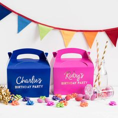 Beryl Betty Celebrations Personalised Children's Party Boxes