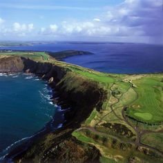 golf course in Ireland