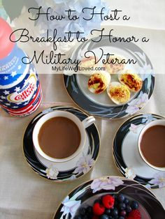 Hosting a Breakfast to honor someone you love! #July4th #Patriotic #Breakfast