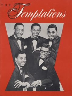 1966 Concert Program for The Temptations
