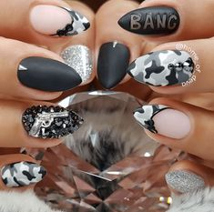 Camouflage Nail Designs 11