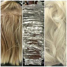 Taking your blonde to the next level Brittany at Salon Marzano #platinumcard #blonde #paulmitchellthecolorxg