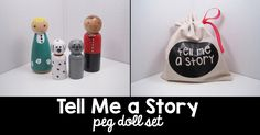 A personal favorite from my Etsy shop https://www.etsy.com/listing/487537432/tell-me-a-story-peg-doll-set