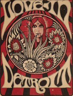Love-In Detroit  Ann Arbor Sun  1967