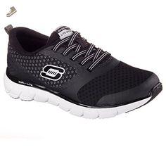 4f675df0cad9 ... sneakers for women ( Amazon Partner-Link). SKECHERS Women s Soleus -  Intriguing Notion Black White Sneaker 6 B (M) -