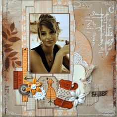 Une nouvelle page en Lorelaï Design - Le blog de cathyscrap85