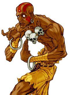 Dhalsim (Capcom vs SNK 2: Mark of the Millennium 2001) - Artist: Kinu Nishimura