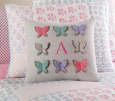 Butterfly Decorative Sham #pbkids