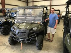 Congratulations to John Soutullo from Lucedale, MS for purchasing a 2016 Polaris Ranger 570 from Hattiesburg Cycles. #polaris