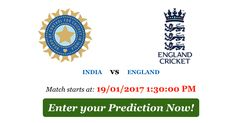 Hurry up! INDIA vs ENGLAND (2nd ODI) - Match Predictions are about to close CLICK here to PLAY: http://predict2w.in/ #Cricket #Predict2Win #ODI #INDvsENG - http://ift.tt/1ZZ3e4d
