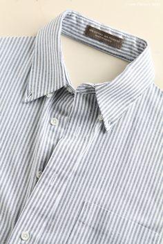 apron from a men's dress shirt