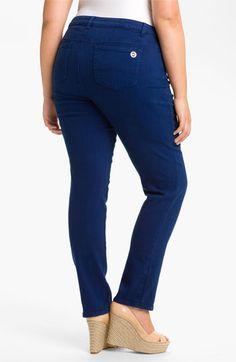 MICHAEL Michael Kors Colored Skinny Jeans (Plus)   Nordstrom