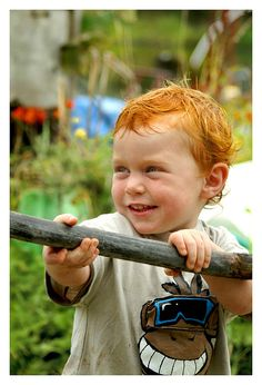 Gorgeous little boy! #ginger #redhead