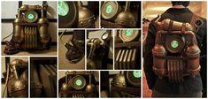 Steampunk Anti-gravity Pack by robotbreath on DeviantArt Steampunk Robots, Anti Gravity, Online Art Gallery, Fall Halloween, Deviantart, Steam Punk, Cosplay, Artists, Retro