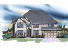 Traditional House Plan with 3619 Square Feet and 6 Bedrooms from Dream Home Source | House Plan Code DHSW66941